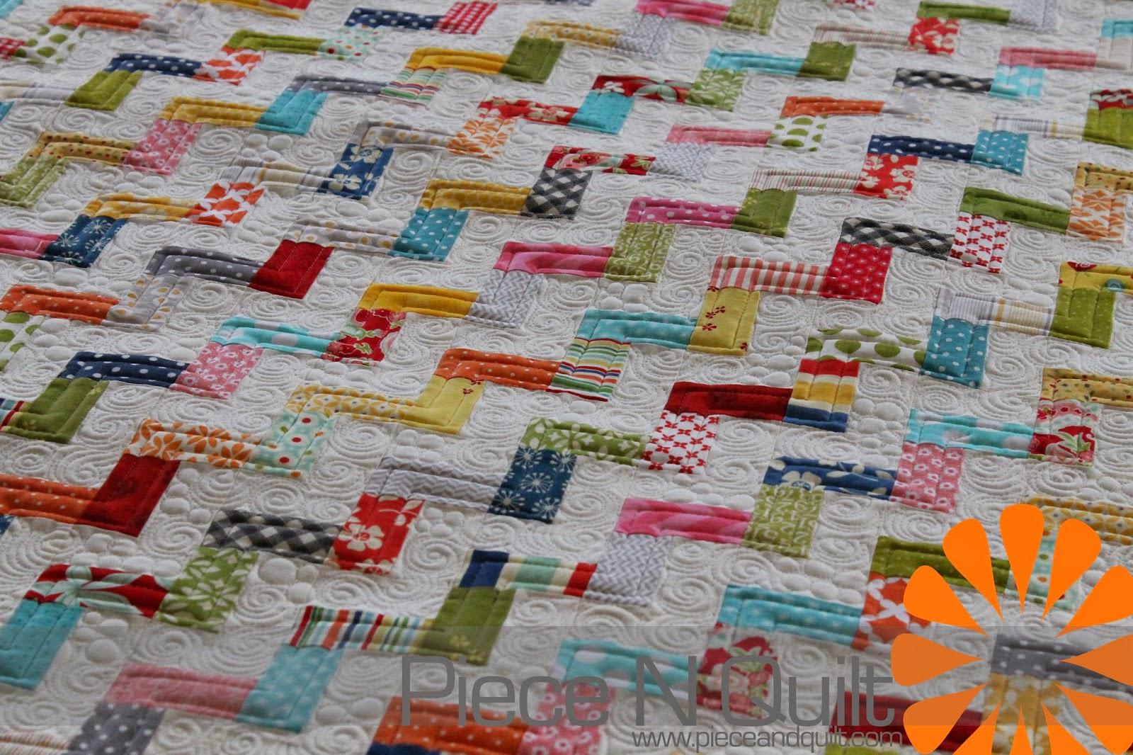 Hello Zig Zag Quilt Pattern : Piece N Quilt: Scrappy Zig-Zags