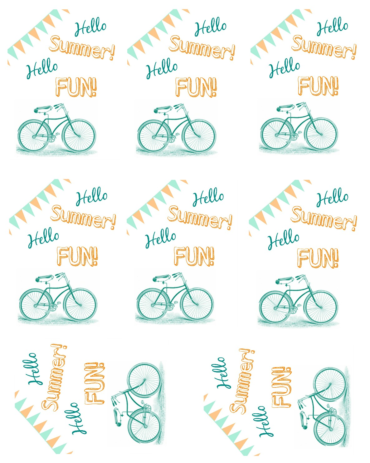 Hello summer hello fun favor idea and free printable tag i dig attach todays free printable tag onto them and they are the perfect mini gift or party favor negle Gallery