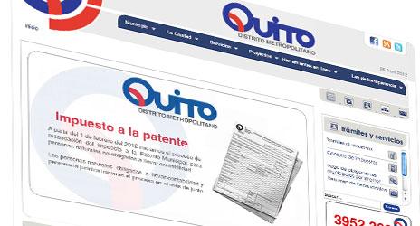 Municipio Quito Gob Ec