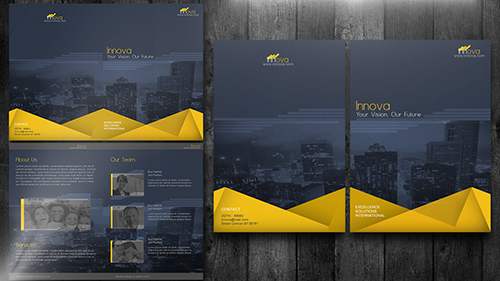 Create a Bi Fold Brochure Photoshop Tutorial