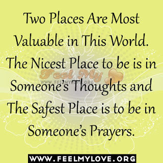 Two Places Are Most Valuable in This World
