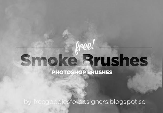 Hi-Res Smoke Photoshop Brushes