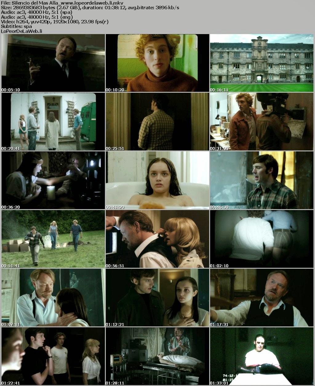 Silencio del Más Allá (2014) BRrip 1080p Latino-Ingles