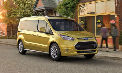 2014 Ford Transit Connect Wins 'International Van of the Year'