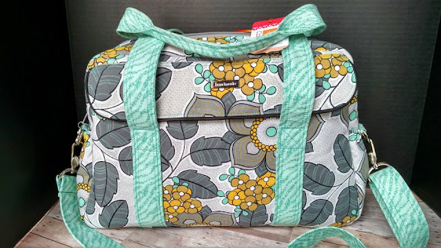 The Nappy bag Pattern by Mrs H - Sewn by Myra Hammonds