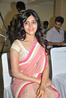 Samantha Ruth Prabhu in lovely Saree 012
