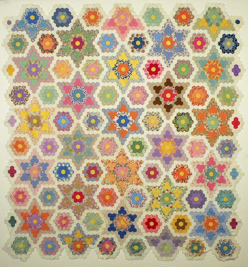 Quilts Etc Hexagon Top As Promised