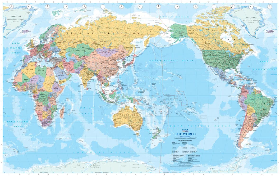 PZ C: mapa mundo