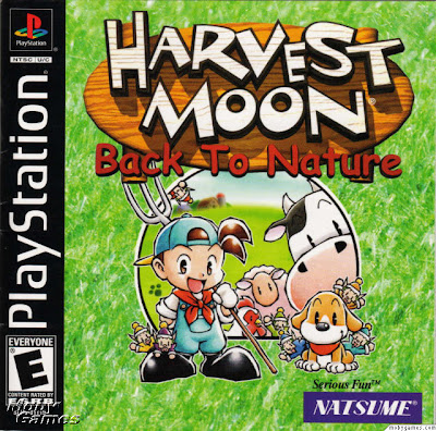 Harvest Moon Back To Nature Bahasa Indonesia Front Cover