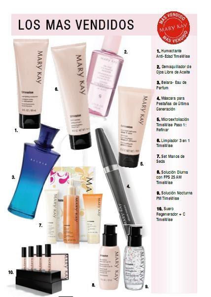 The look mary kay los productos mas vendidos son - Articulos mas vendidos ...