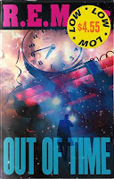 capa de Out of Time, por R.E.M.