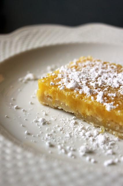 Classic Lemon Bars by freshfromthe.com