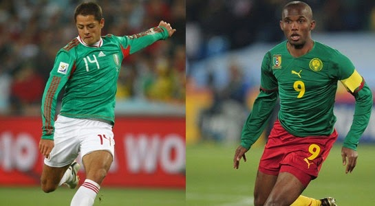 Meksiko vs Kamerun