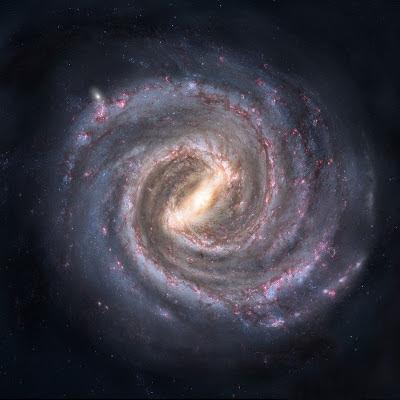 Nuestra galaxia, la Vía Láctea