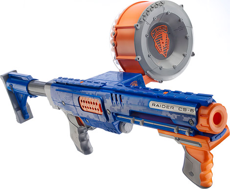 pictures of nerf machine guns