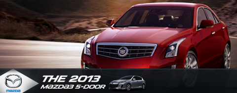 The 2013 Cadillac Mazda