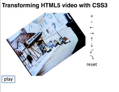 video html5 con css3