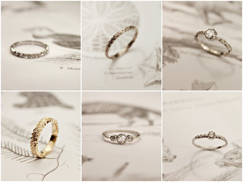 Delicate Rings by Rust