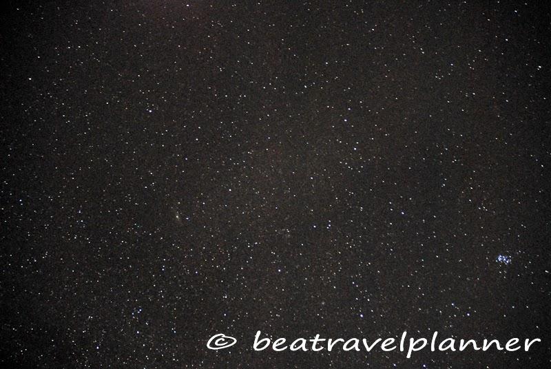 Notte di stelle in Africa