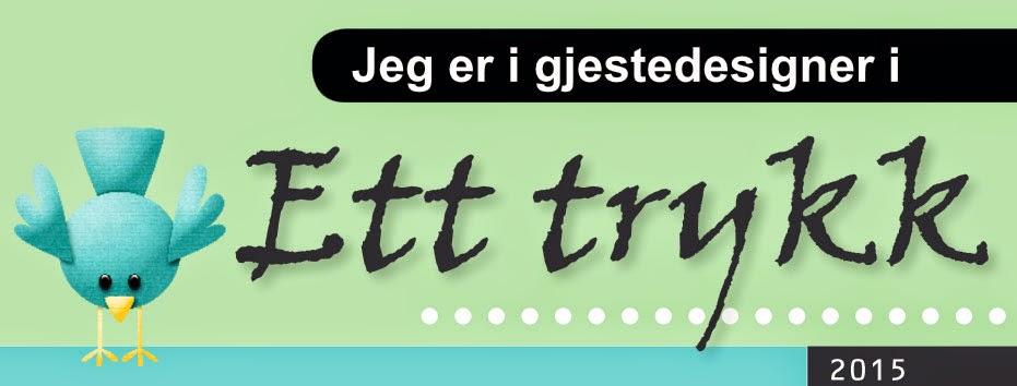 Gjestedesigner Ett Trykk 2015