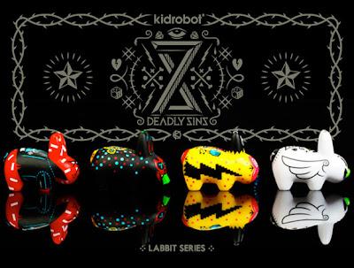 Kidrobot - 8 Deadly Sins Labbit Mini Series by Kronk