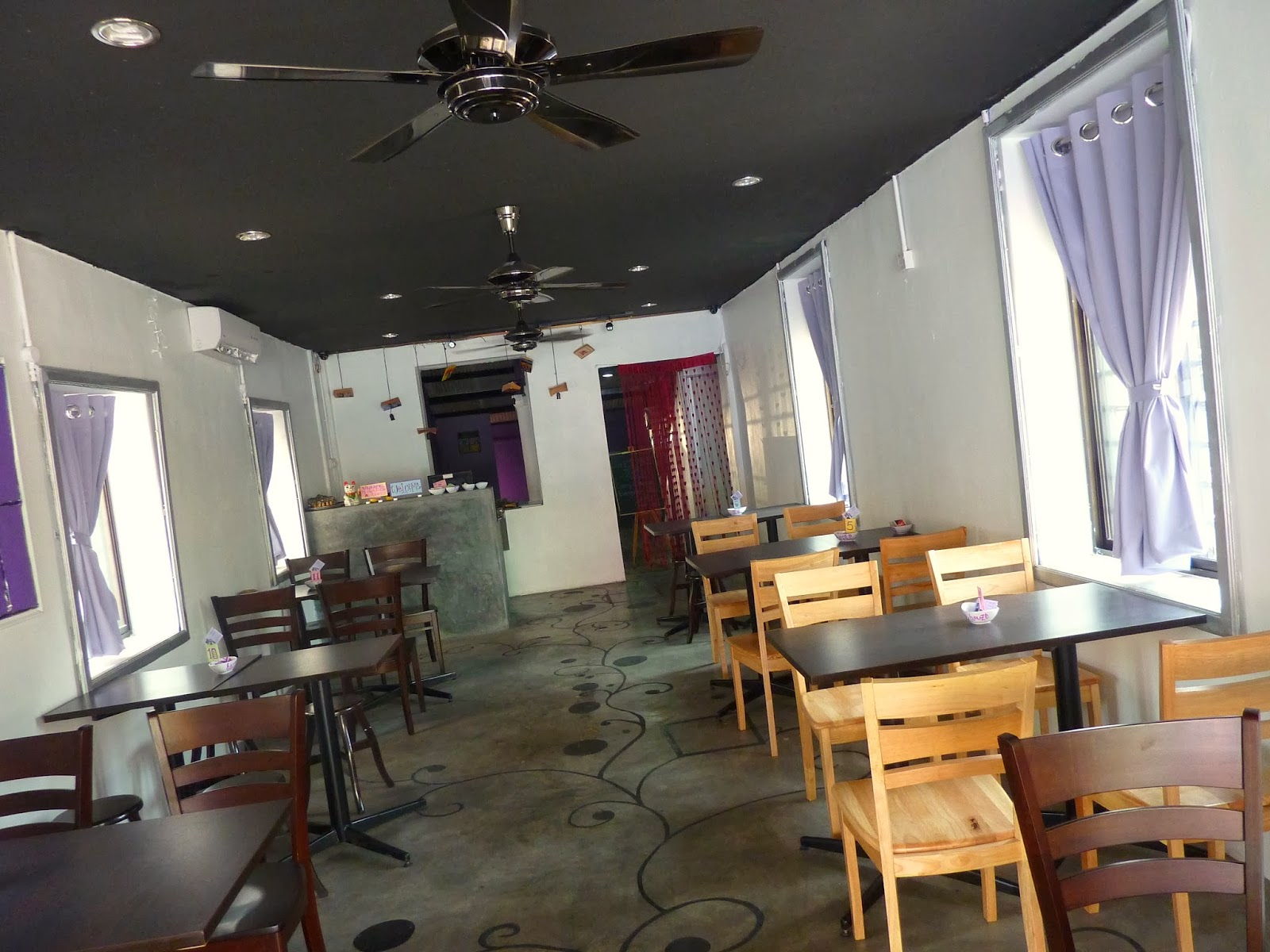 penang food for thought: purple-houze café