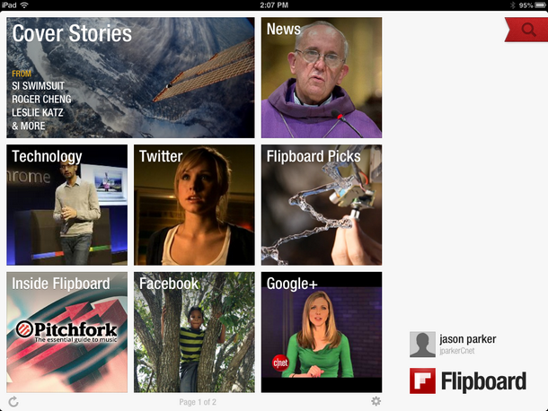 Flipboard News Reader