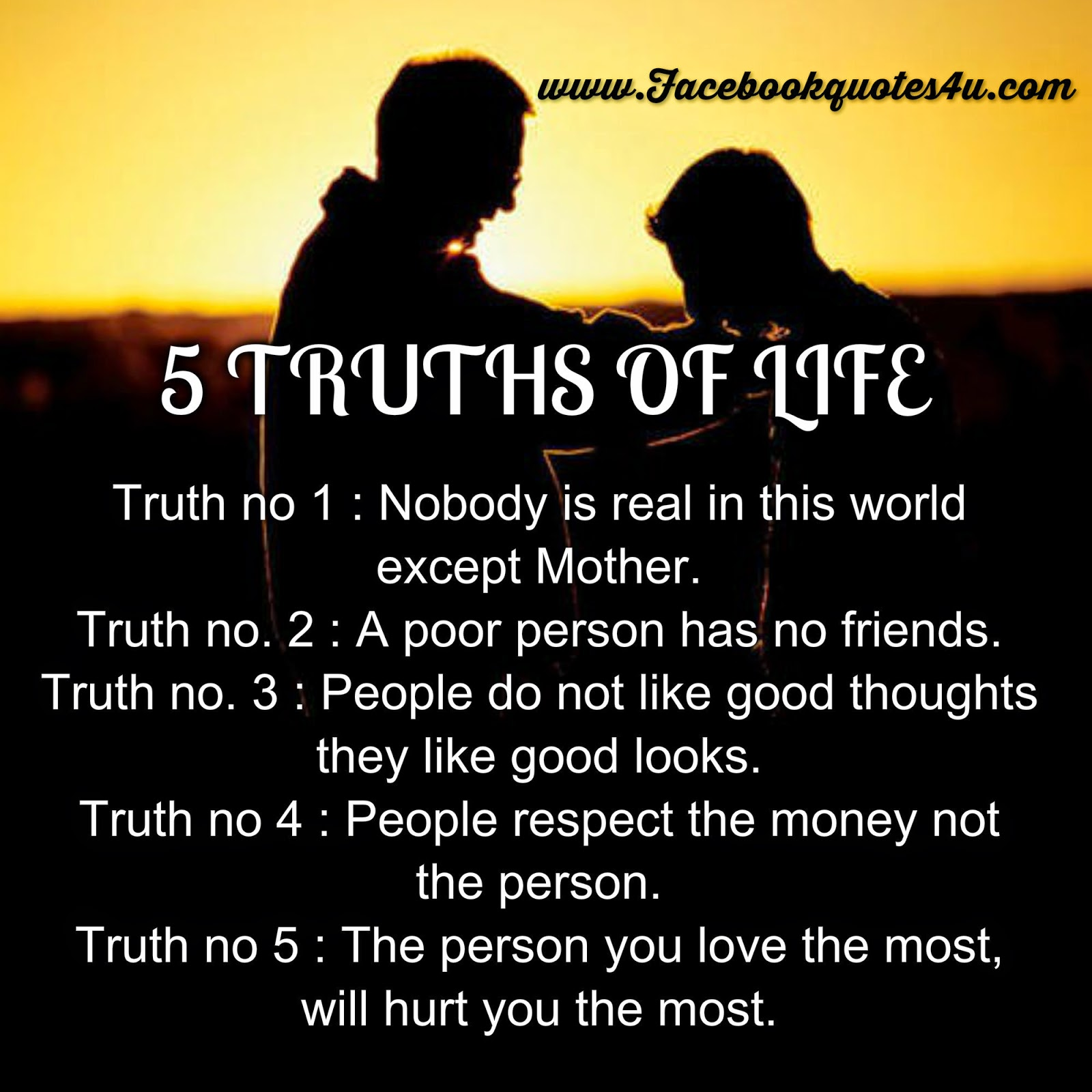 Poor Life Quotes Mesmerizing Quotes 5 Truth Of Life