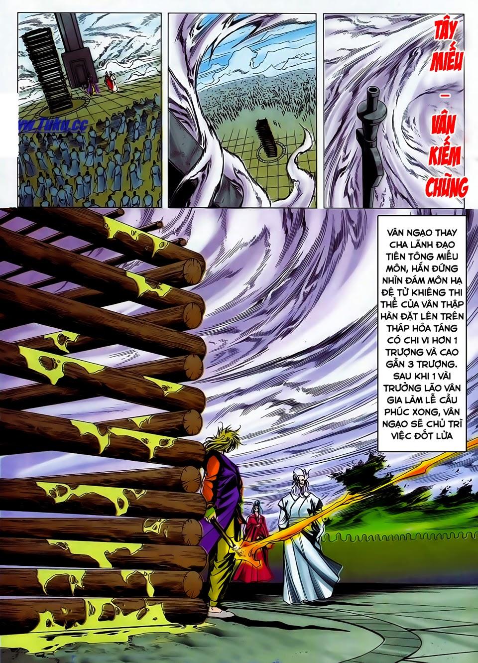 Lục Đạo Thiên Thư chap 37 - Trang 11