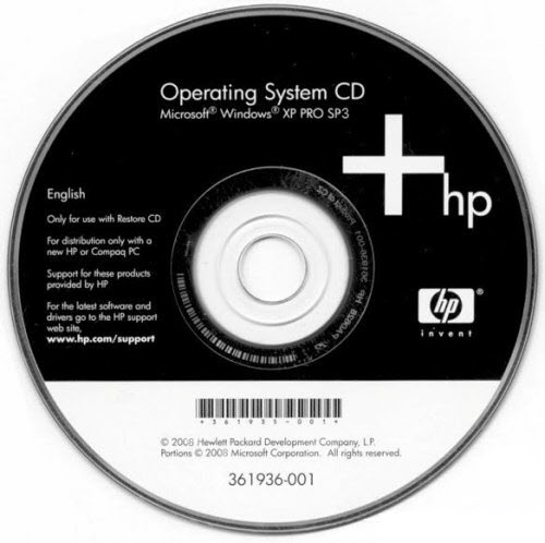 Hp pavilion recovery disc download