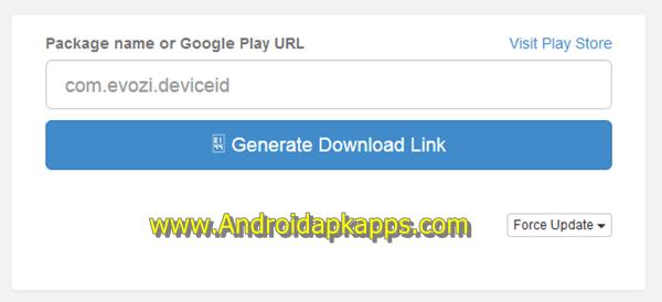 Evozi Apk Downloader Generate Button