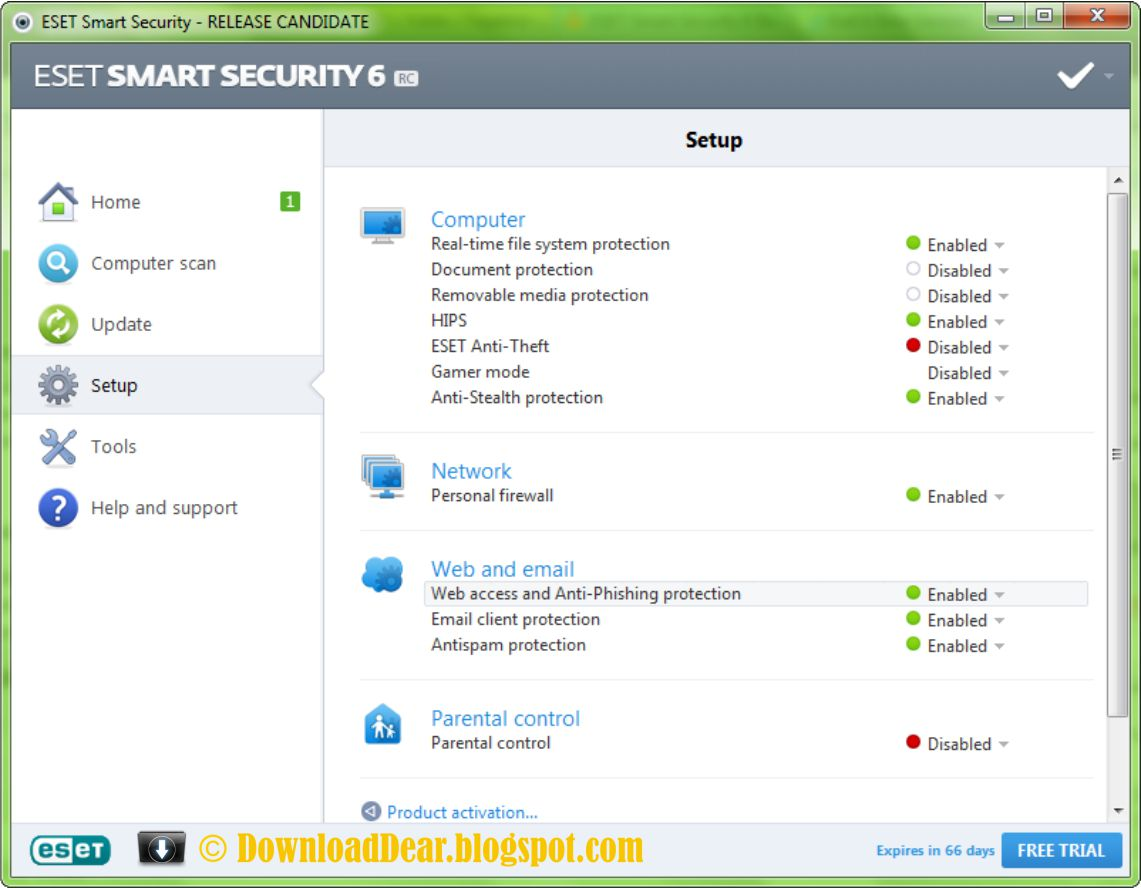 Informaci n sobre ESET NOD 32 Antivirus 12 Smart Internet Security 12 2019