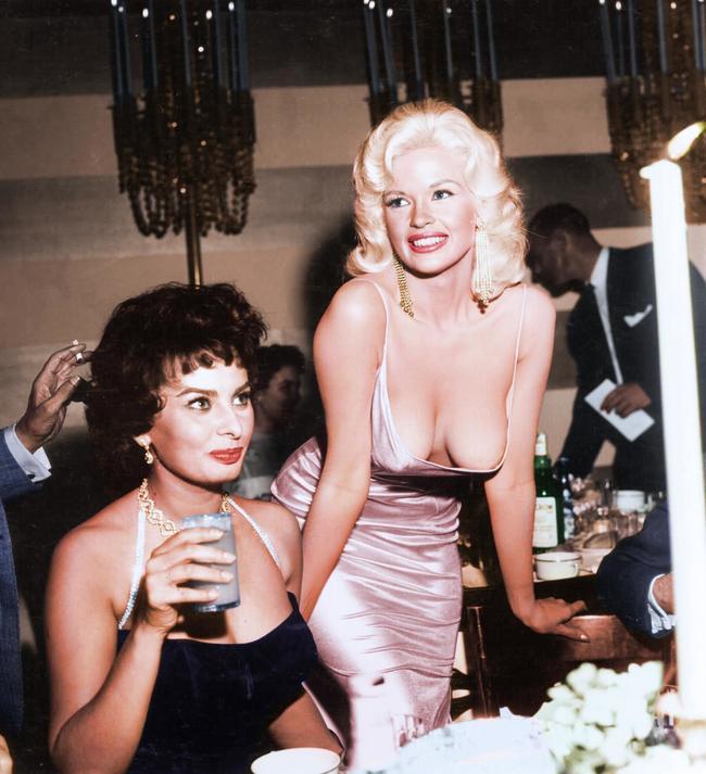 Sophia Loren and Jayne Mansfield.
