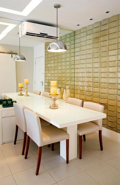 Sala De Jantar Com Parede De Vidro ~ IsaOli Salas de jantar Inspirações