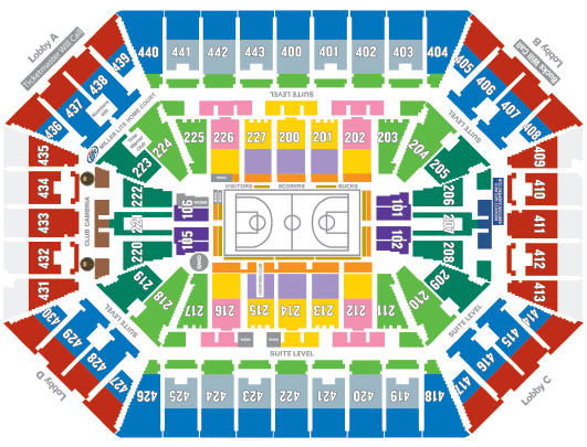 Ticket king milwaukee wisconsin where to sit at the bmo harris