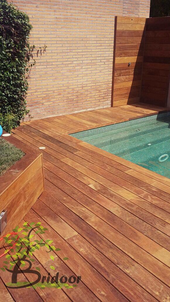 Bridoor s l madera de ipe para exteriores y piscinas - Urbanizacion la finca madrid ...