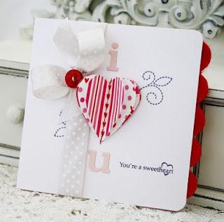 Cartão dia dos namorados Craft