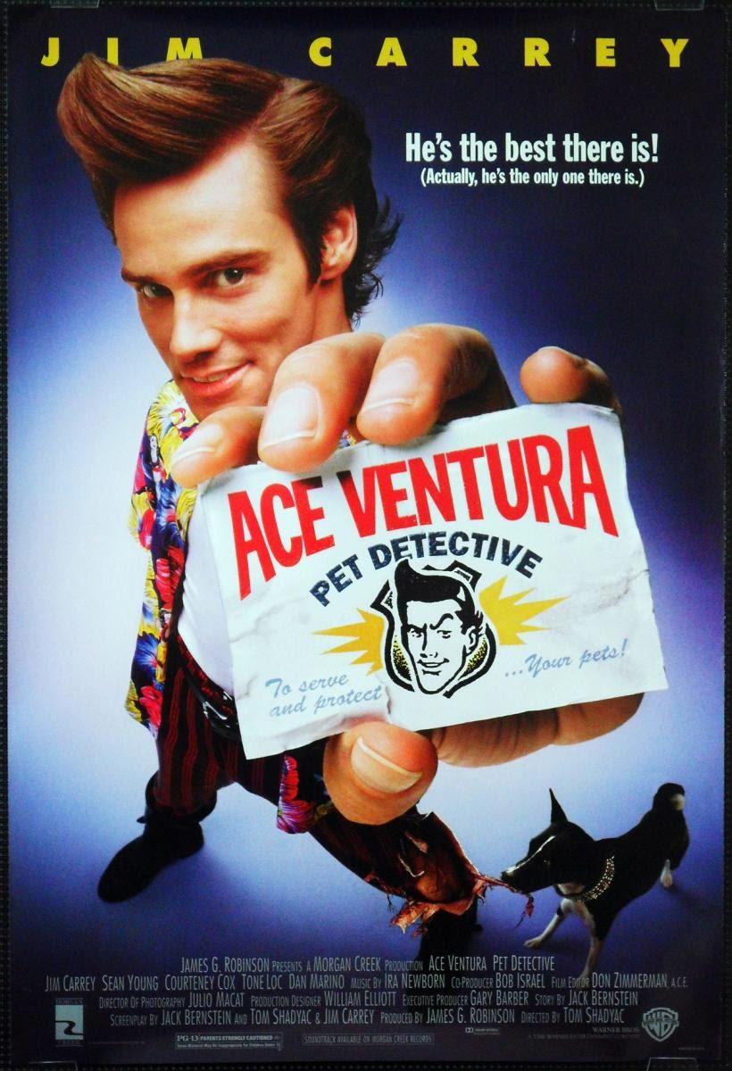 "Blog Safari Club, película online ""Ace Ventura, un detective diferente"""