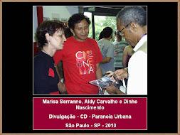 Marisa Serranno, Aldy Carvalho e Dinho Nascimento