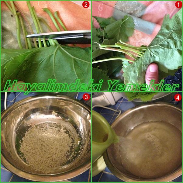 üzüm yaprağı salamurası nasıl yapılır