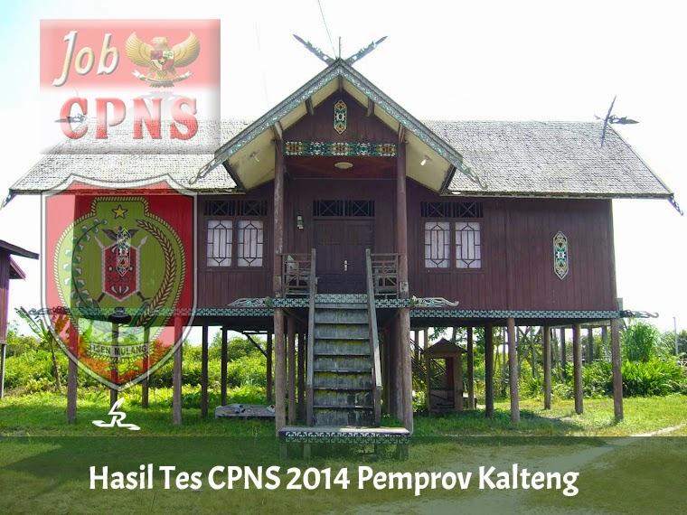 Hasil Tes CPNS 2014 di Pemprov Kalteng