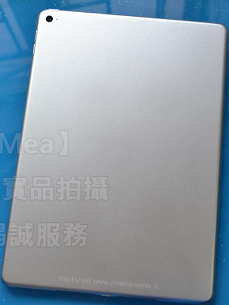 Ecco la cover del prototipo di un iPad 6