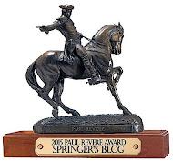 2015 Paul Revere Award