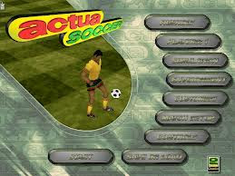 Free Actua Soccer Welcome