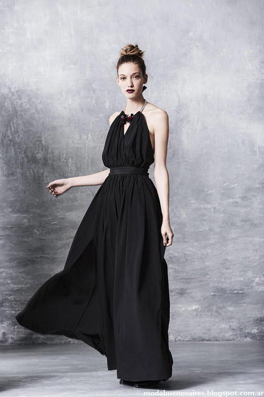 Moda vestidos invierno 2014 Uma.