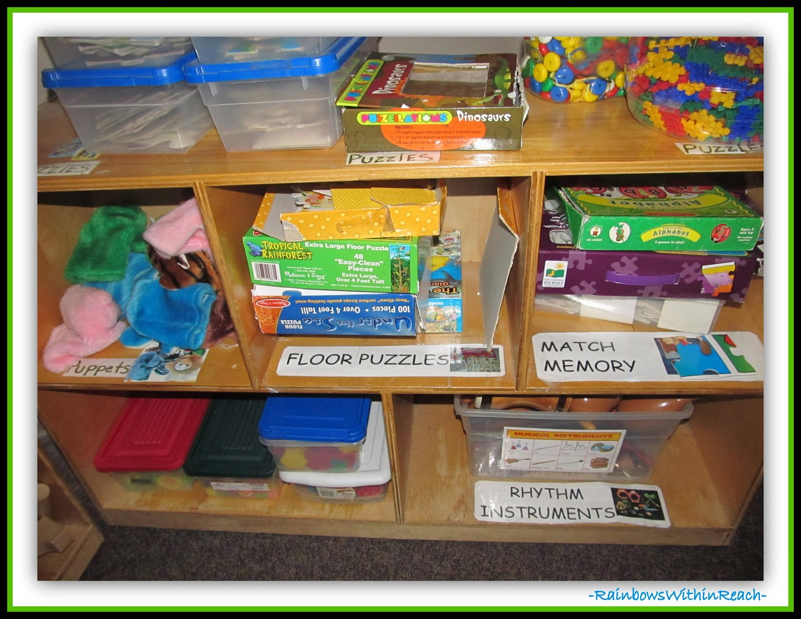 Classroom Organization Ideas For Preschool : Rainbowswithinreach spot
