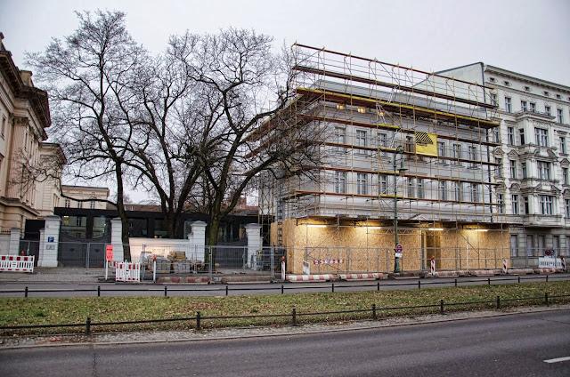 Baustelle Museum Berggruen, Spandauer Damm 13, 14059 Berlin, 02.01.2014
