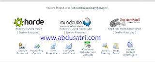 tutorial cpanel untuk buat email pribadi