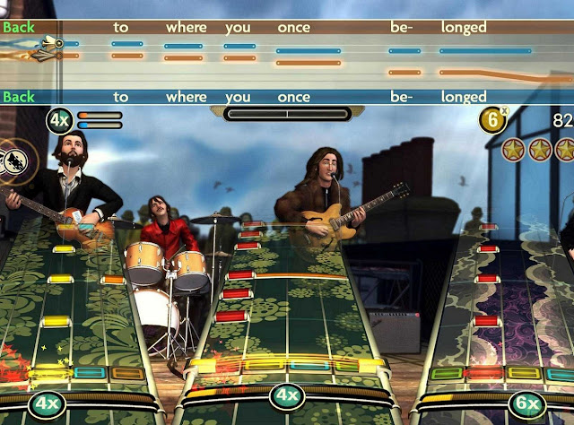 Rock Band, The Beatles, Rock band the Beatles