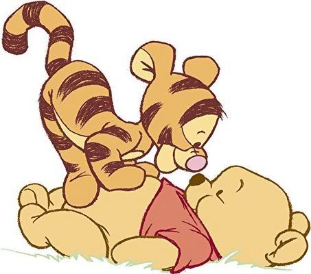 Turma do Pooh Baby colorido